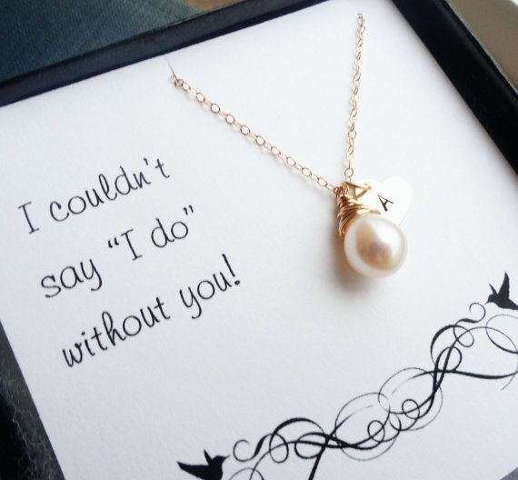 cute way to ask your bridesmaids to be in the wedding