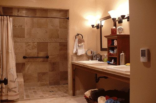 Bathroom Wheelchair Accessible Sinks Design Pictures