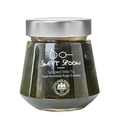 Syruped Wild Fig - Γλυκό του κουταλιού Άγριο Συκαλάκι
