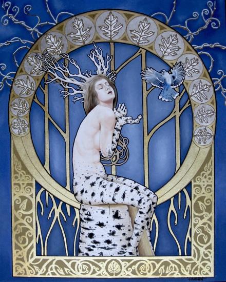 Art Nouveau Winter.  I'm looking at you, @Lisa Conley!