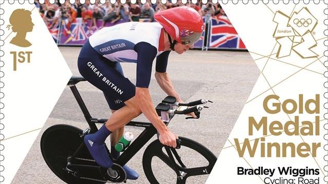 Bradley Wiggins gold stamp