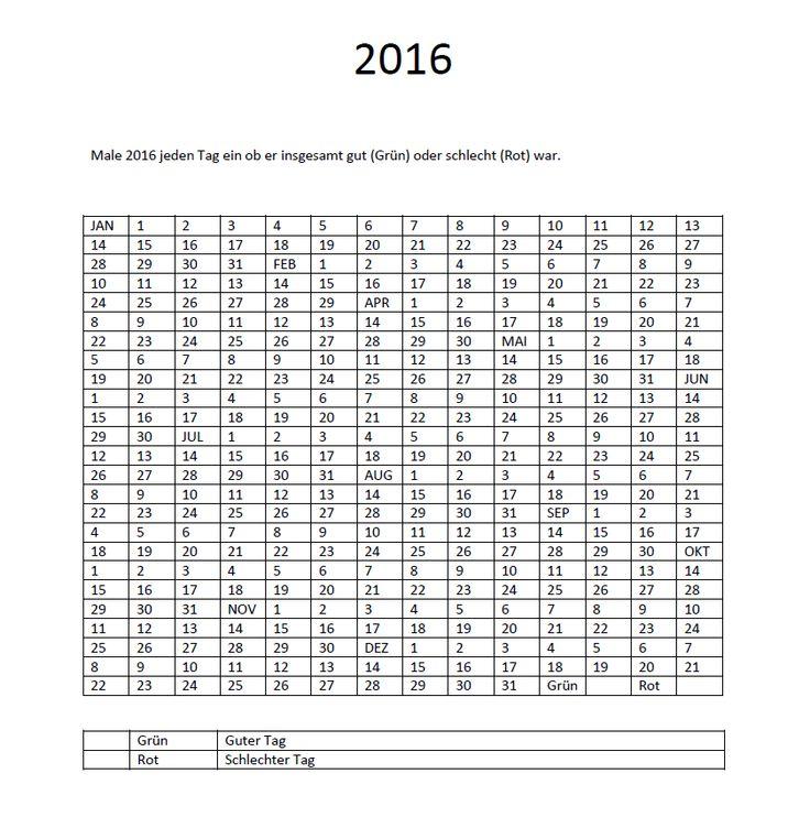 Kalender 2016 als gratis