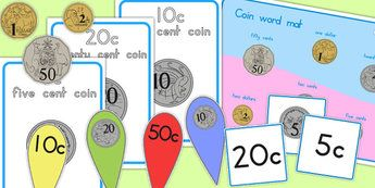 Australian Coins and Notes Resource Pack - australia, coins, note