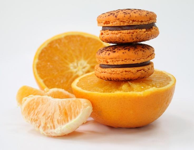 Orange Macaroon by milK & HONEY Pâtisserie