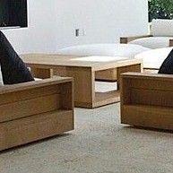 SET Lounge Liege Sofa Sessel Tisch Couch Ottomane Liegeinsel Loungeliege Gartenliege