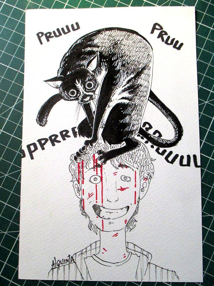 """Gaston Gatuso"" x Alquinta ¿Quieres ver como se dibujó esta caricatura? Pincha acá--> https://goo.gl/zGPiQd"