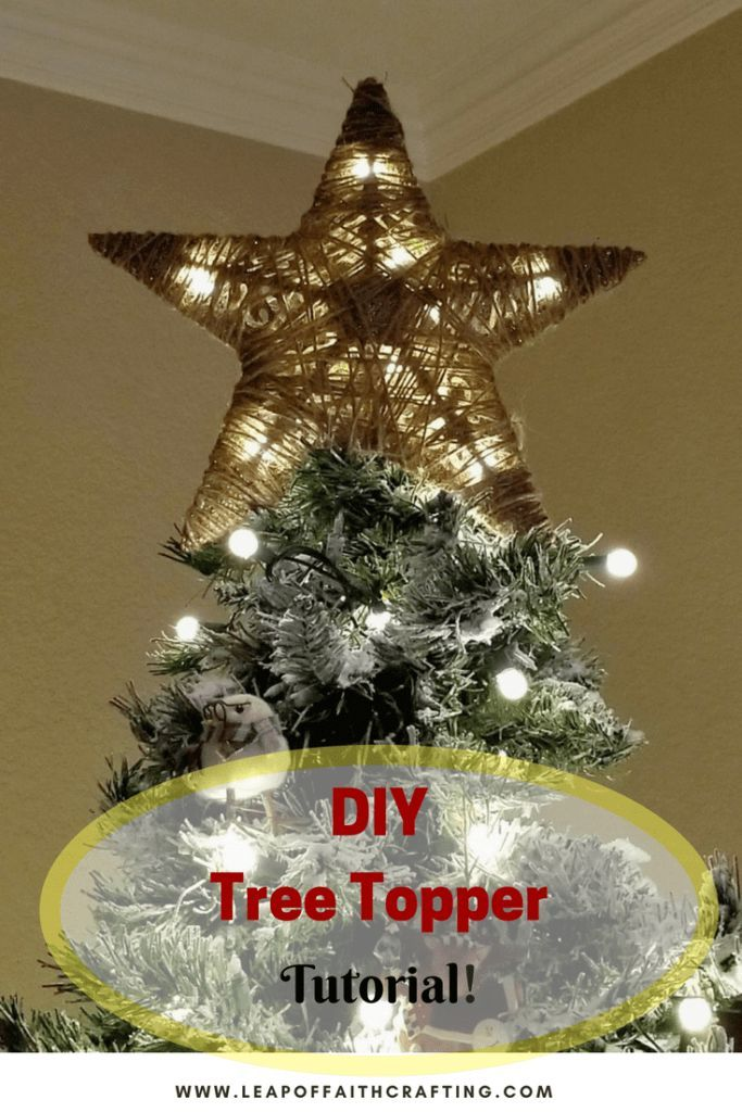 Diy Tree Topper From Dollar Tree Items Diy Craft Awesomeness