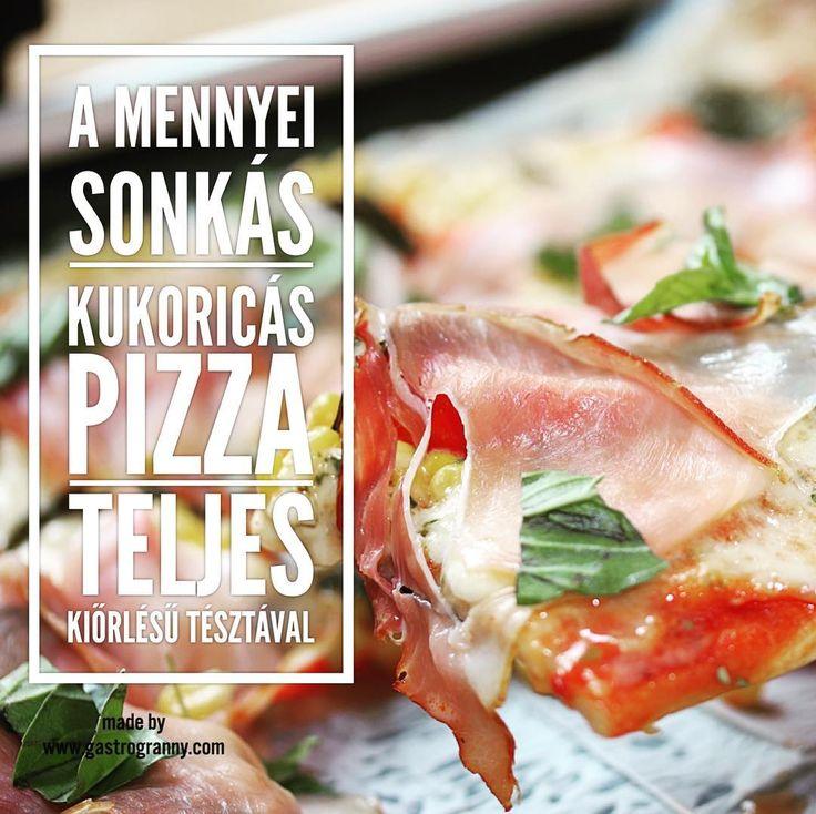 Pizza prosciutto crudo. #pizza #gastrogranny #gastrogrannyblog