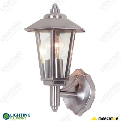 Stainless Steel Torquay 304 Stainless Steel Exterior Wall Lantern - Wall & Pillar Lights - Exterior Lighting - Lighting - Shop - Lighting Illusions Online