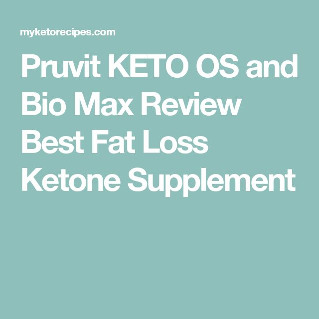 Pruvit KETO OS and Bio Max Review Best Fat Loss Ketone Supplement