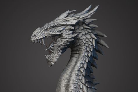 Dragon, Христо Савов on ArtStation at https://www.artstation.com/artwork/0zbkG