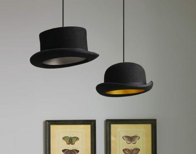 Leuchten aus Hüten