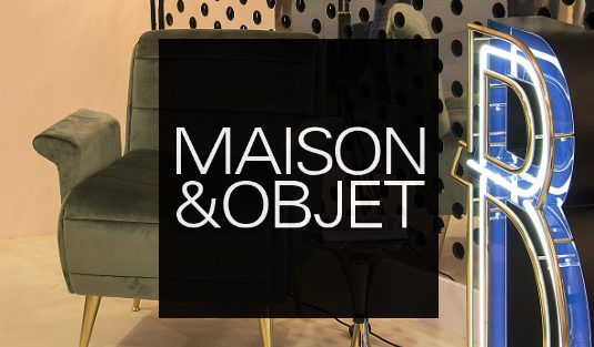Maison et Objet September: What You Should Know by Now  | www.contemporarylighting.ey | #contemporarylighting #lightingdesign #maisonetobjet