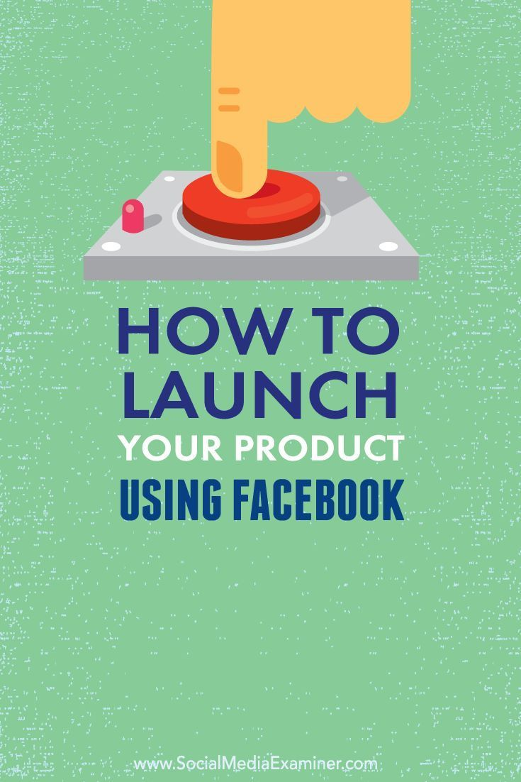 Facebook is a great way to promote the launch of a product or service and generate excitement.  In this article youll discover how to launch a product or service using Facebook.