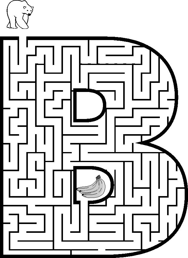 free coloring pages and mazes - photo#13