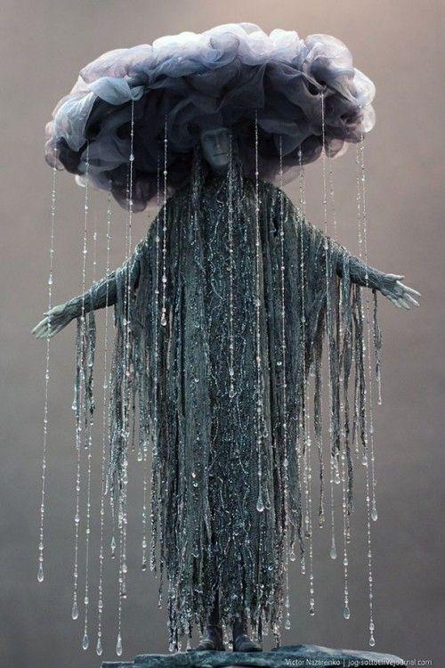 disfraz de la diosa de la tormenta