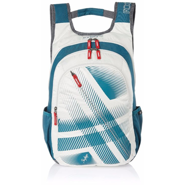 Skybags Footloose Blitz 02 White - This bag features a front pocket, bottle holder, and a spacious key holder.  Spacious enough to keep all your stuff properly. It has a padded shoulders that adds more comfort while carrying.  View now; https://acebazaar.in/product/footloose-blitz-02-white/