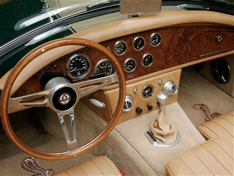 interior cobra build pinterest ac cobra cobra replica and cars. Black Bedroom Furniture Sets. Home Design Ideas