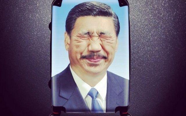 Des images jugées irrespectueuses du président Xi Jinping