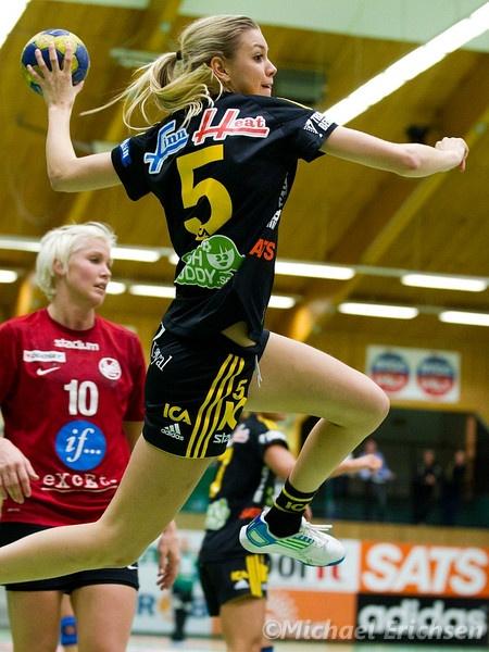 Hanna Fogelström - Swedish Olympic handball