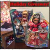 Classic Bratz Holiday Doll Giveaway  Open to: United States Canada Other Location Ending on: 12/14/2016 Enter for a chance to win a classic Bratz holiday doll valued at approximately $15.00 USD. Two winners. Enter this Giveaway at Lalaloopsy Fan Club  Enter the Classic Bratz Holiday Doll Giveaway on Giveaway Promote.
