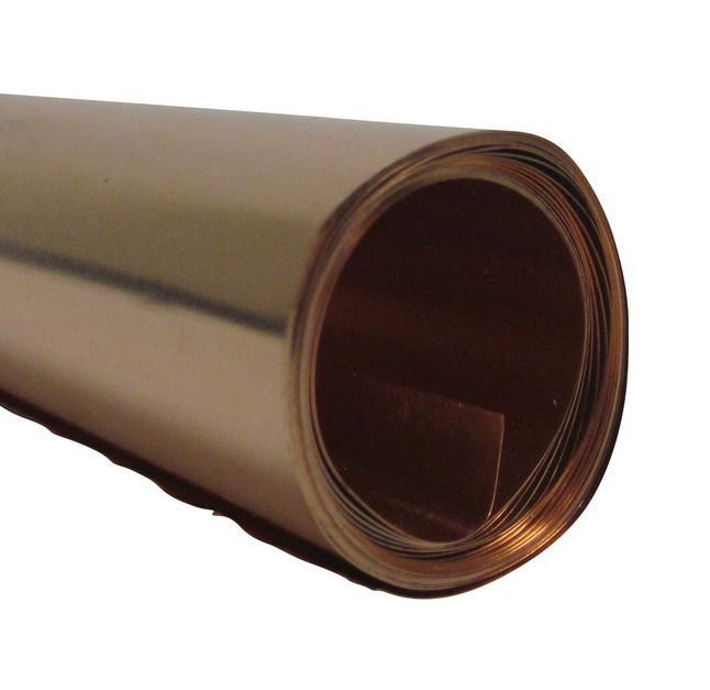 St Louis Crafts 36 Gauge Copper Metal Foil Roll 12 Inches X 5 Feet Copper Metal Craft Foil Copper