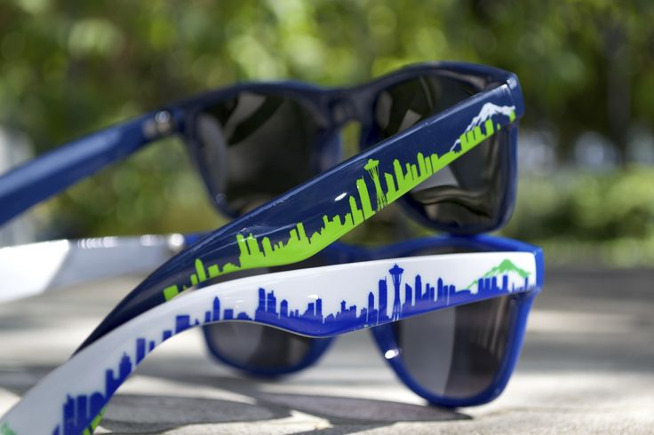 Introducing the 12th Man Pack! Get both pairs of our Seahawks inspired shades // $40.