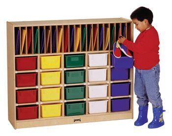 0417JC Jonti-Craft¨ Classroom Organizer - 20 - Without Trays