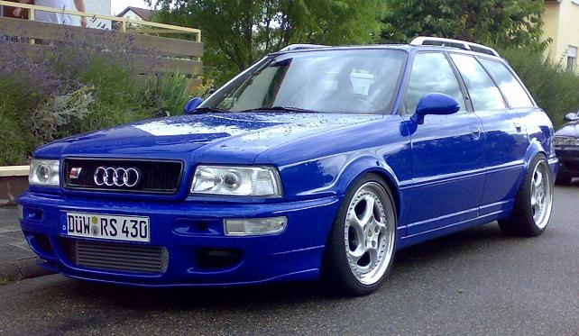Audi RS2 - Porsche bits as standard. Lovely and rare turbo ski-wagen...