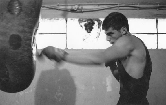 boxing training back to 1992 at the age of 20