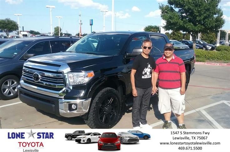Congratulations Patrick on your #Toyota #Tundra 4WD from Corey Splonick at Lone Star Toyota of Lewisville!  https://deliverymaxx.com/DealerReviews.aspx?DealerCode=E208  #LoneStarToyotaofLewisville