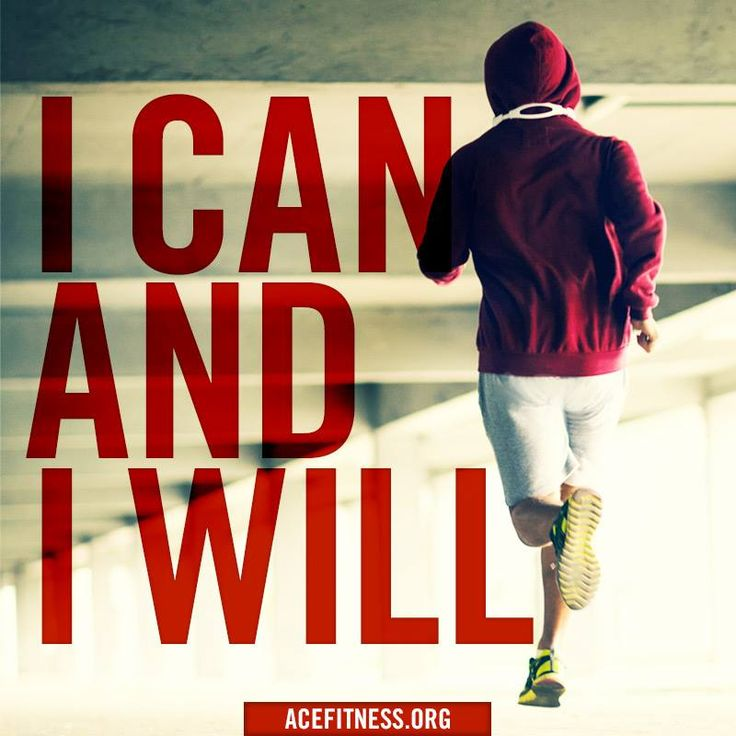 I can and I will. #fitness #motivation #quote