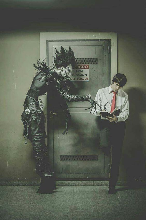 Death Note cosplay by Yanurix Cosplay #deathnote #cosplayclass #cosplay