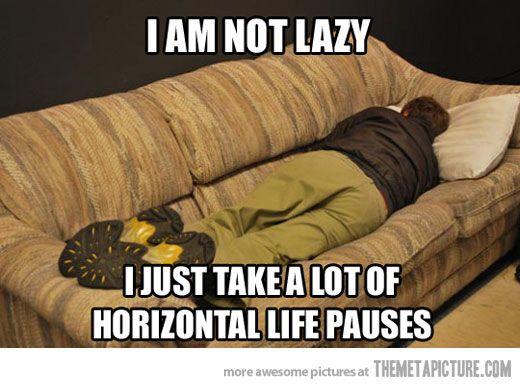 horizontal life pauses