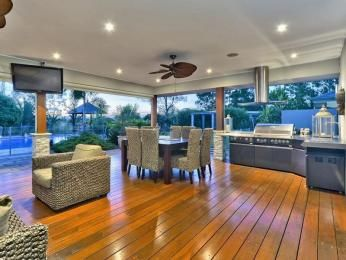 Outdoor living design with bbq area from a real Australian home - Outdoor Living photo 1076583
