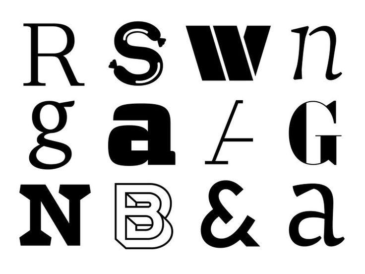 Type design by studio niedermann