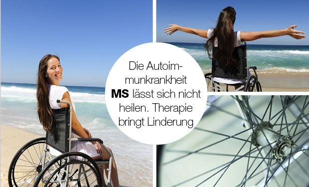 Multiple Sklerose (MS) zeigt viele Symptome