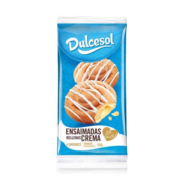 Ensaimadas crema 4u - Dulcesol