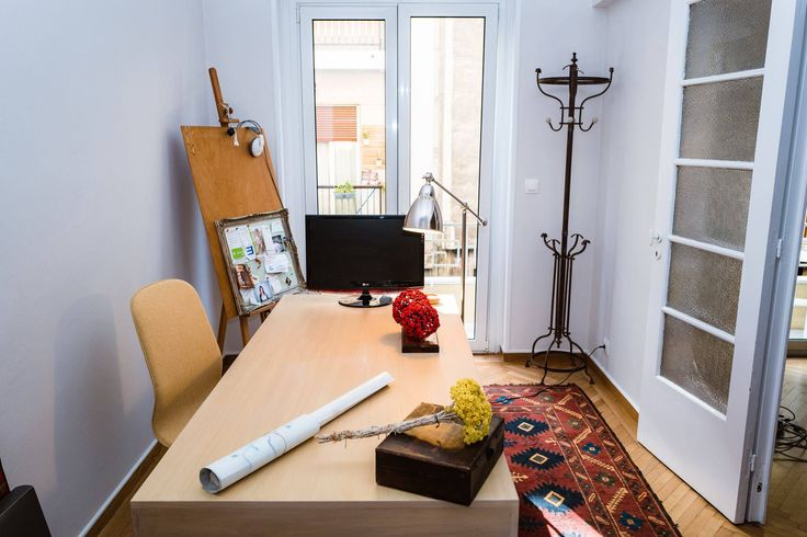 Art Deco House, Working Space, Dimitra Marini, Architects