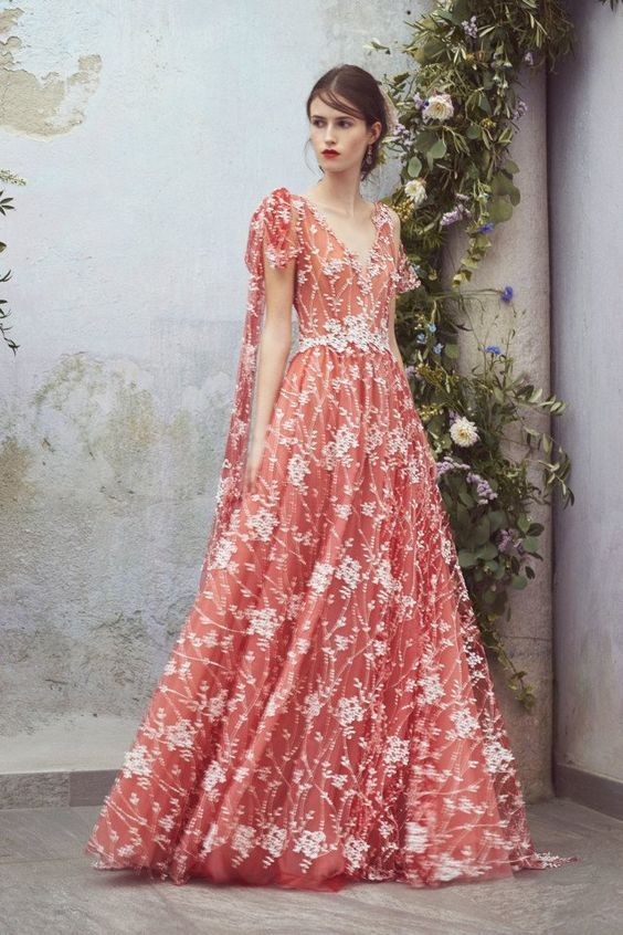 145a55df9 10+ Modelos De Vestidos Românticos