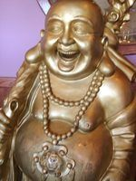 Cómo ubicar una estatua de Buda