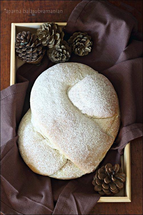 Krendel (Pretzel Shaped Russian/ Ukrainian Fruit Filled Bread)
