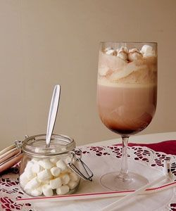 Hot Chocolate with Marshmallows  http://www.seedoilpress.com/product/oil_press/home-use-oil-press.html