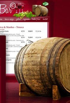 Winebar N.1 webdesign by Artlandia