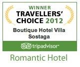 Der 4 romantischster Hotel am Gardasee. Villa Sostaga Luxushotel mit 19 Suiten, Restaurant, Pool, Sauna und vieles mehr