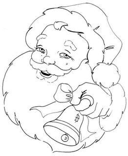 Risco Papai Noel 02 Fonte: http://www.oartesanato.com/sites/www.oartesanato.com/files/riscos-de-papai-noel-para-pintura-em-tecido-17.png