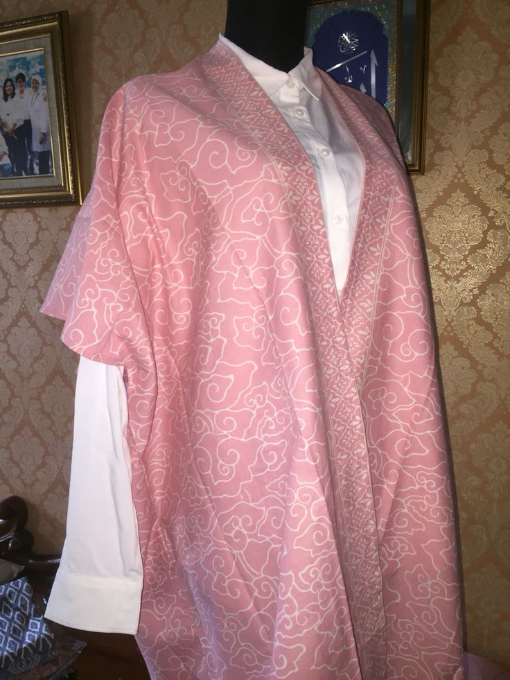 pink megamendung batik outer