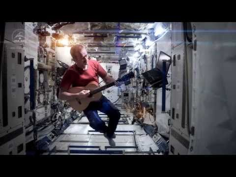 Space Oddity - YouTube I love this--the first video recorded in outer space by Commander Chris Hadfield on board the International Space Station...David Bowie's Space Oddity.