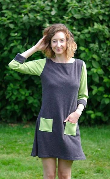 Sophia's Coco dress - sewing pattern by Tilly and the Buttons