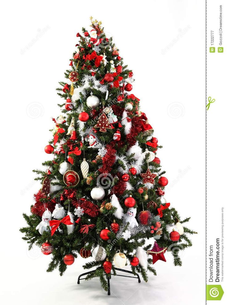 alberi di natale rosso oro - Cerca con Google